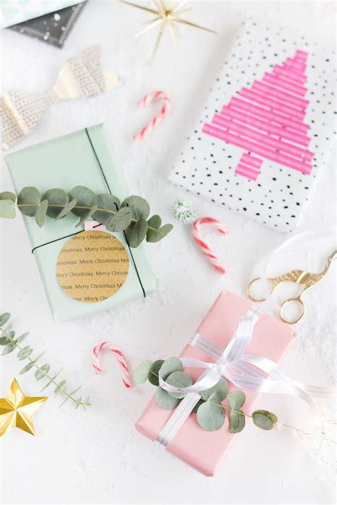 diy ideen 3 diy ideen zum weihnachtsgeschenke verpacken mit