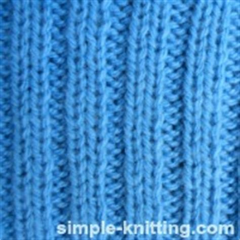 what does knit one purl two basic rib stitch patterns knit ribbing