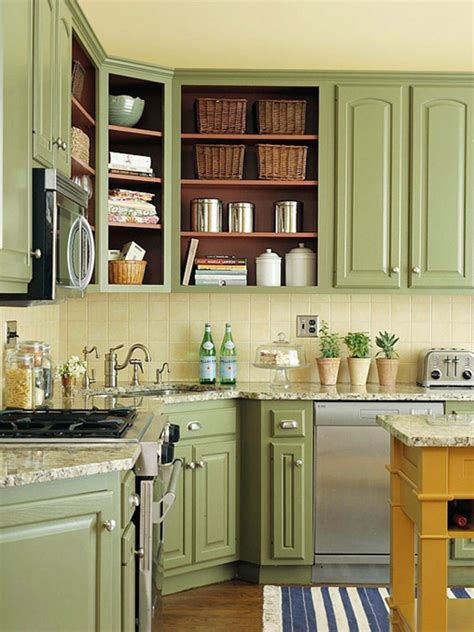 sustainable kitchen cabinets bhg centsational style