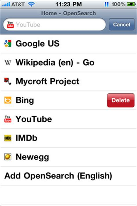 Phone Search Engines Gt Cicero Lets You Add Search Engines To Iphone Safari Balkam