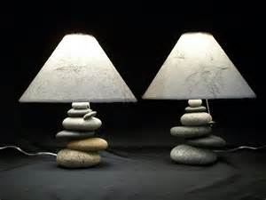 Cool Bedside Lamps Bedside Lamps Set Of Balance Rock Lamps