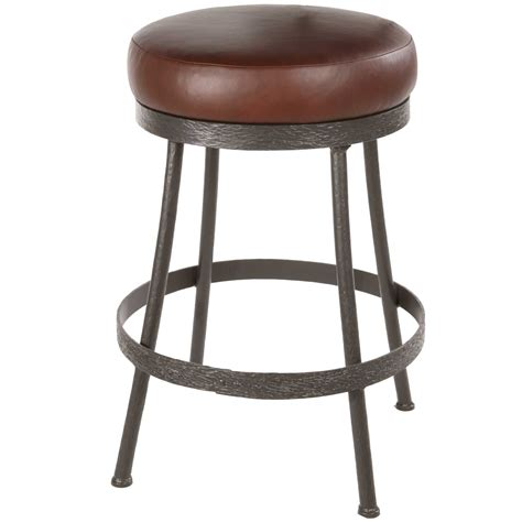 Backless Swivel Counter Stools by Pictured Here Is The Backless Cedarvale Counter Stool With