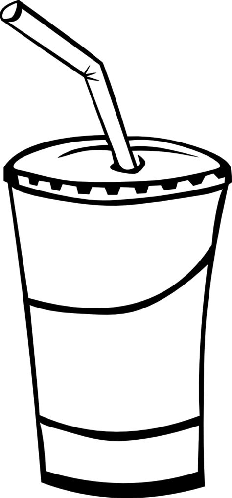 cocktail clipart black and white onlinelabels clip art fast food drinks soda fountain