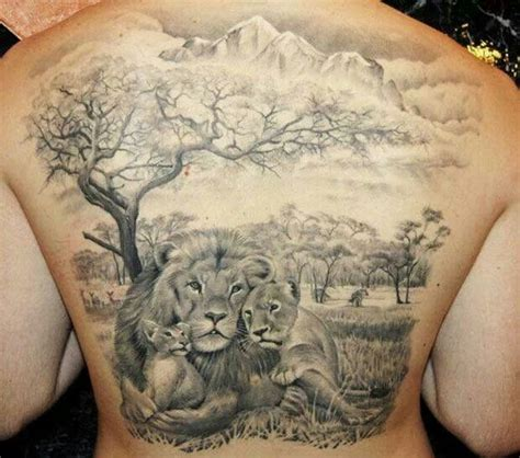 lion family inked up pinterest lion lion family and