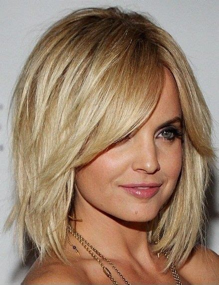 layered neck length bob hairstyles layered bob with heavy fringe layered bobs bobs and
