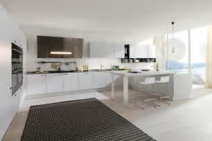 White Modern Kitchen Ideas by All White Kitchen Designs 2015 2016 Fashion Trends 2016 2017