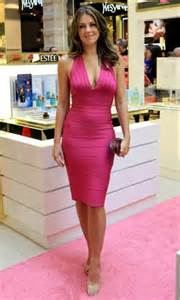 halter deep v neck short pink bandage bodycon evening