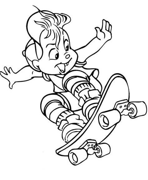 Skateboarding Printable Coloring Pages Sketch Coloring Page Skateboarding Coloring Pages Free Printables