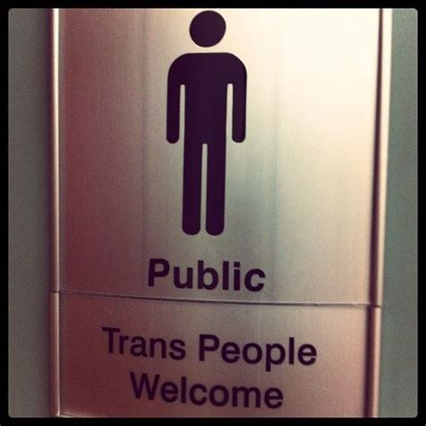 trans bathroom pin by leo donin on