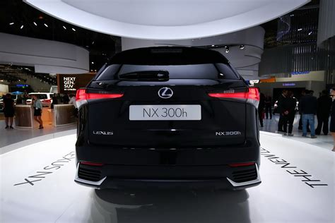 lexus compact facelifted lexus nx 300h is a more refined compact suv