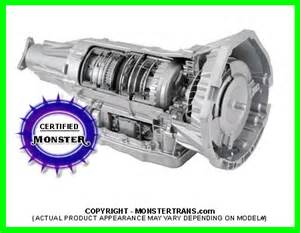6l80e transmission remanufactured chevy gm six speed