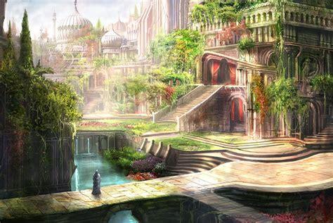 hanging gardens of babylon wonders of our world