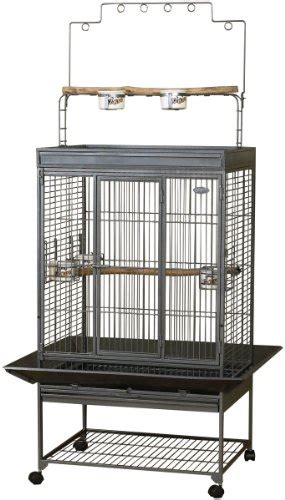 kaytee ez care playtop cage for medium birds