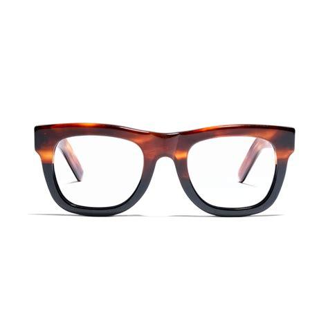 madewell ciccio eyeglasses in black