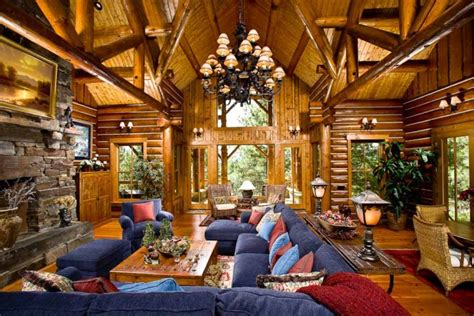 luxury log home interiors luxury homes and amenities