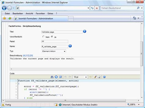 tutorial breezingforms joomla breezingforms teil 4 joomla cms tutorials de