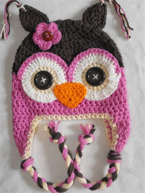 crochet hats on pinterest crochet hats owl hat and hat patterns inspiration i