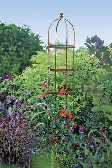 jardin  garden obelisk tuteur  ft gardenerscom