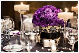 purple wedding centerpieces ideas purple wedding flowers my bridal