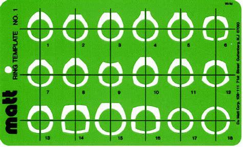 ring template wax template ring template 1