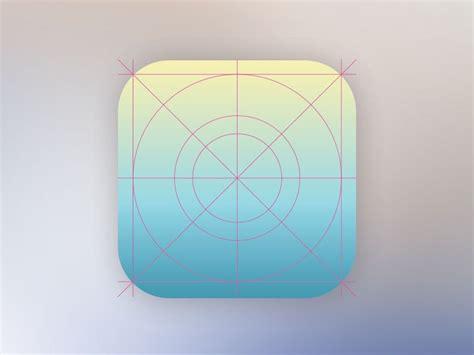 Ios Design Templates 25 ios app icon templates to create your own app icon