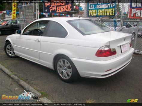 2000 bmw 3 series 323i 2000 bmw 3 series 323i coupe alpine white sand photo 3
