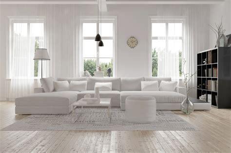 wohnzimmer hell hell freundlich modern skandinavisch wohnen