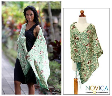 silk batik shawl bogor the rainforest site