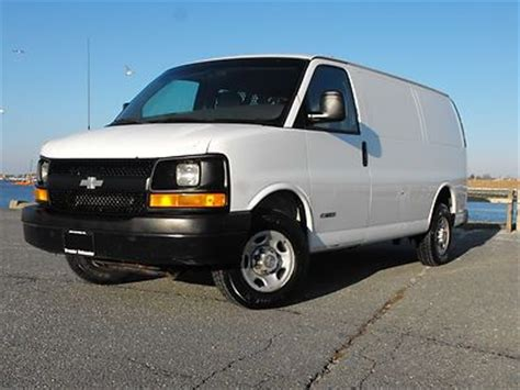 how to work on cars 2003 chevrolet express 2500 on board diagnostic system purchase used 2003 chevy express cargo van g2500 v8 1 owner fleet owned in new bedford