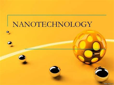 nanotechnology powerpoint template nano technology unvieled authorstream