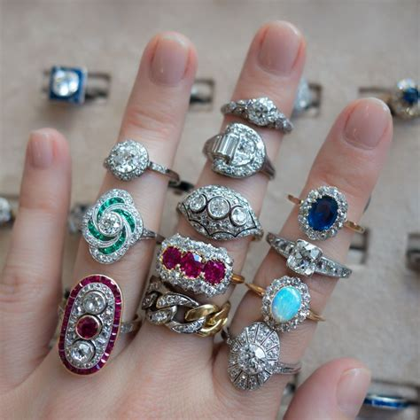 162 best images about vintage rings on ruby