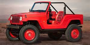 Jeep Yj Interior Jeep Concepts Revealed For Easter Jeep Safari