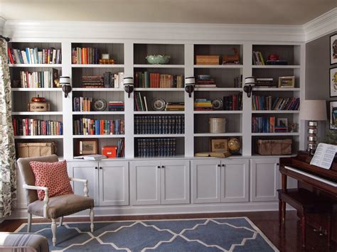 library built in bookshelves right up my alley library reveal