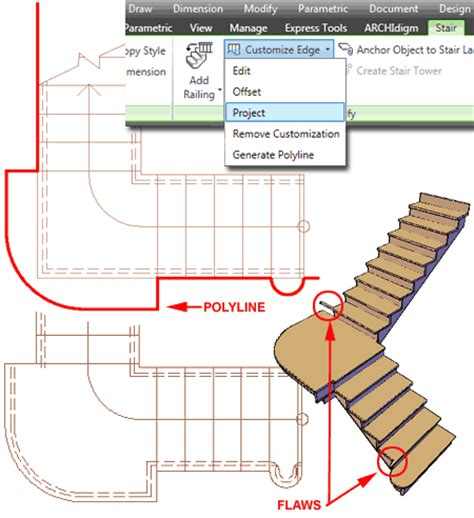 how to show stairs in a floor plan autocad architecture custom stairs