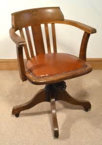 vintage armchair for sale 1930s oak swivel chair antiques atlas