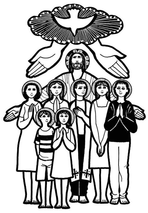 12 pics of all saints day coloring pages all saints day