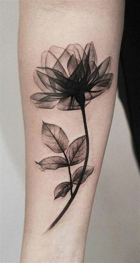 women s forearm tattoos ideas beautiful black magnolia arm ideas for