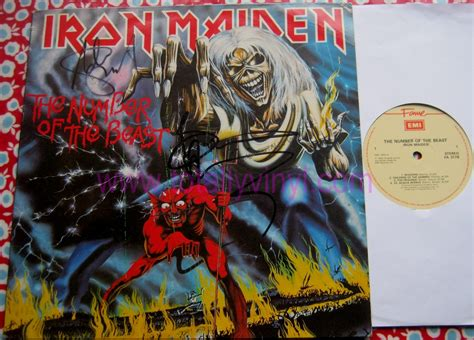 Vinyl Iron Maiden The Number Of The Beast Totally Vinyl Records Iron Maiden The Number Of The