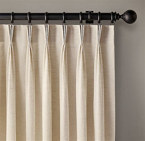 pinch pleat linen curtains faux linen pinch pleat curtains curtain menzilperde net