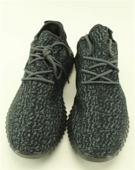 s adidas black yeezy boost 350 shoes size 11 ebay