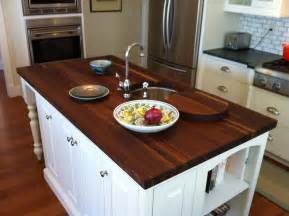 charming and wooden kitchen countertops