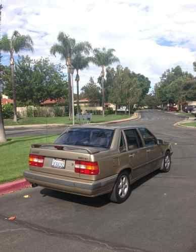 books on how cars work 1993 volvo 850 electronic valve timing buy used 1993 volvo 850 glt sedan 4 door 2 4l in upland california united states