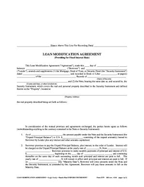 loan modification agreement template 28 images 9 sle