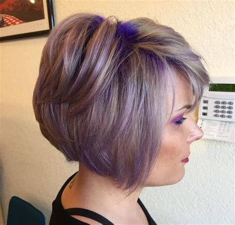22 Sassy Purple Highlighted Hairstyles (for Short, Medium