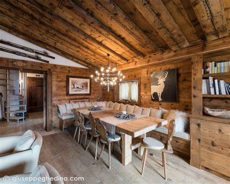 cottage in montagna interni a cortina my one day restaurant mountain house