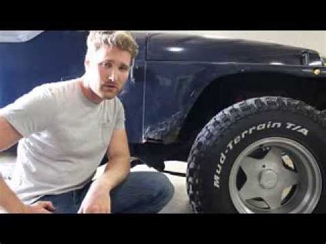 How To Fix A Jeep Jeep Wrangler Rust Repair