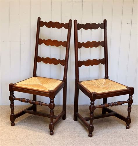 antique french dining set of six french oak dining chairs antiques atlas