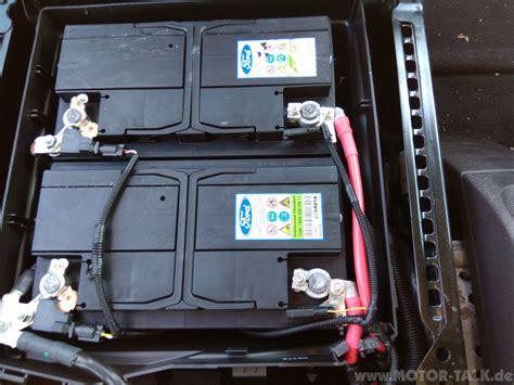 Motorrad Batterie Was Beachten by Batterie Tourneo Custom Tourneo Custom Ausbau Der