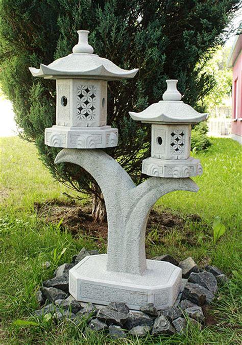 Garten Deko Japan by Rankei Granit Echter Stein Laterne Asien Japangarten