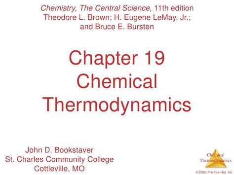 Ap Chemistry Chapter 6 Outline by Ap Chemistry Chapter 19 Outline